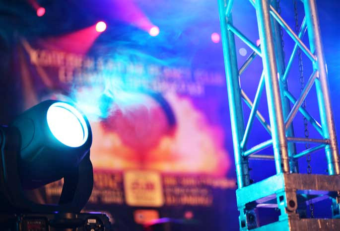 Lighting Setup for a Private Event