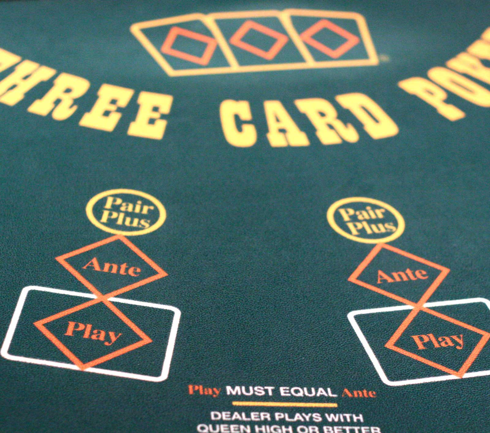 Game Options - 3 Card Poker