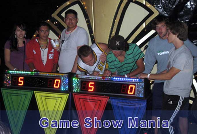 Entertainment Team Game Show Mania